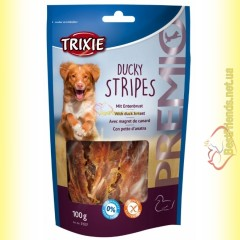 Trixie Premio Ducky Stripes Лакомство для собак с утиной грудкой 100гр