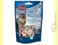 Купить Trixie Premio Tuna Rolls Лакомство для кошек с тунцом и мясом птицы 50гр