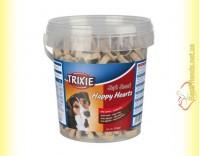 Купить Trixie Soft Snack Happy Hearts Лакомство для собак - ягнёнок и рис 500гр