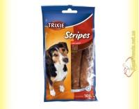 Купить Trixie Stripes Лакомство для собак Пластинки с бараниной 100гр