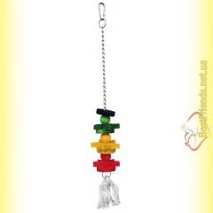 Trixie Деревянная игрушка для попугая 30см