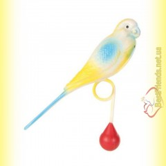 Trixie Игрушка для птиц Пластиковый попугай 12см