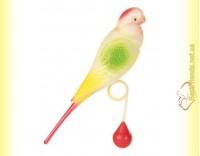 Купить Trixie Игрушка для птиц Пластиковый попугай 15см