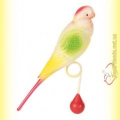 Trixie Игрушка для птиц Пластиковый попугай 15см