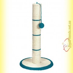Trixie Когтеточка-столбик сизалевая с игрушкой 64см