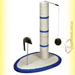 Trixie Когтеточка-столбик сизалевая с мышкой 50см