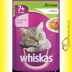 Whiskas 7+ с Ягненком в желе, пауч 100гр