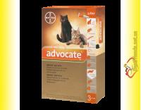 Купить Advocate капли для кошек весом до 4кг