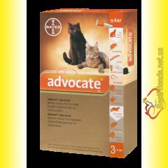 Advocate Капли для кошек весом до 4кг