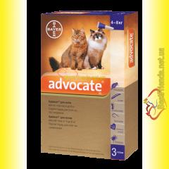 Advocate Капли для кошек весом от 4 до 8кг