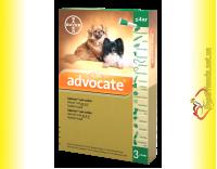 Купить Advocate Капли для собак весом до 4кг