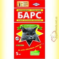 БАРС №3 Стандарт гигиенический наполнитель с ароматизатором 5кг
