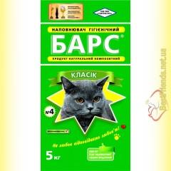 БАРС №4 Классик гигиенический наполнитель 5кг