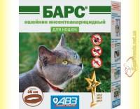Купить Барс ошейник инсектоакарицидный для кошек 35см