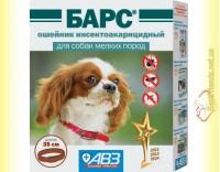 Купить Барс ошейник инсектоакарицидный для собак мелких пород 35см
