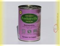 Купить Baskerville консерка для кошек Утка с Индейкой 400гр