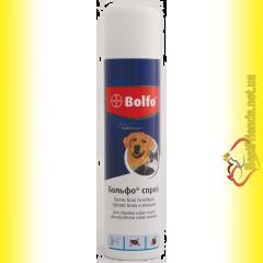 Bolfo Аэрозоль от блох и клещей для собак 250мл