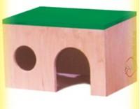 Купить Домик деревянный для хомяка, Лори