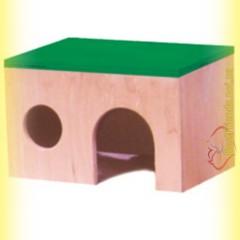 Домик деревянный для хомяка, Лори