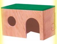 Купить Домик деревянный для крыс, Лори