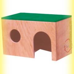 Домик деревянный для крыс, Лори