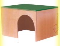 Купить Домик деревянный для кролика, Лори
