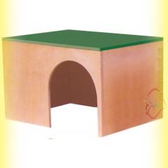 Домик деревянный для кролика, Лори