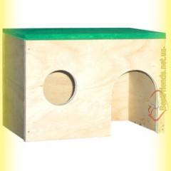 Домик деревянный для морской свинки, Лори