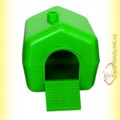 Домик для мелких грызунов, пластиковый
