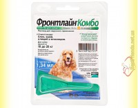 Купить Фронтлайн Комбо Спот Он M капли для собак весом от 10 до 20кг