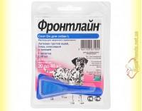 Купить Фронтлайн Спот Он L капли для собак весом от 20 до 40кг