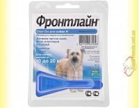 Купить Фронтлайн Спот Он M капли для собак весом от 10 до 20кг