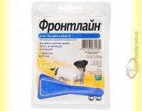 Купить Фронтлайн Спот Он S капли для собак весом от 2 до 10кг