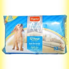 Hartz Пелёнки для собак и щенков с привлекающим запахом 56*56см - 32шт