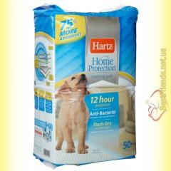 Hartz Пелёнки для собак и щенков с привлекающим запахом 56*56см - 50шт