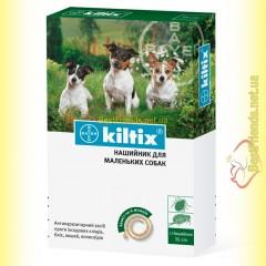 Kiltix Ошейник для мелких собак 35см