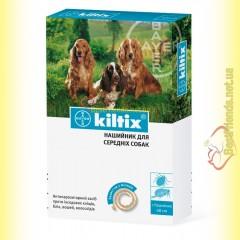 Kiltix Ошейник для средних собак 48см
