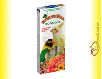 Купить Колосок Коктейль для средних попугаев три вкуса (мультифрукт, ореховый, цитрус) 3*30гр