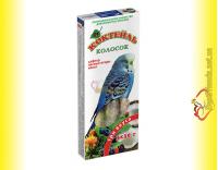 Купить Колосок Коктейль для волнистых попугаев три вкуса (сафлор, лесная ягода, кокос) 3*30гр