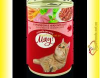 Купить Мяу! для кошек Кролик в нежном соусе 415гр