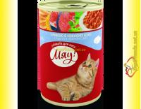 Купить Мяу! для кошек Рыба в нежном соусе 415гр