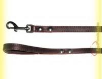 Купить Поводок кожаный прошитый 16мм, 1,2м BeFore