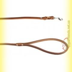 Поводок кожаный с заплетом 14мм, 1,1м BeFore