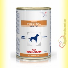 Royal Canin Gastro Intestinal Low Fat Canine Cans 410гр