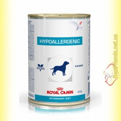 Royal Canin Hypoallergenic Canine Cans 400гр