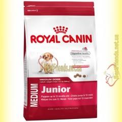 Royal Canin Medium Junior 4кг