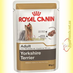 Royal Canin Yorkshire Terrier Adult паштет 85гр