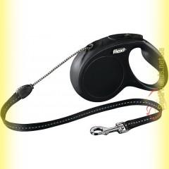Рулетка Flexi NEW CLASSIC M трос - 8м для собак до 20кг
